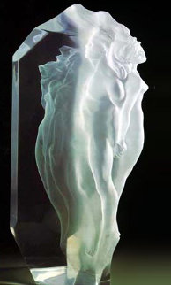 Transcendent Acrylic Sculpture 1991 19 in Sculpture by Frederick Hart