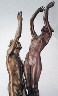 Celebration Life Size Bronze Sculpture 1991 Sculpture - Frederick Hart