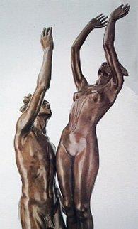 Celebration Life Size Bronze Sculpture 1991 Sculpture by Frederick Hart
