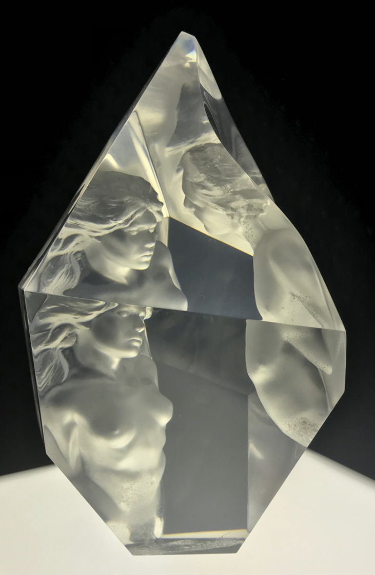 Prologue  Acrylic Sculpture 2000 12 in Sculpture by Frederick Hart