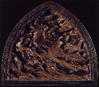 Creation Suite of 3 Bronze Sculptures: Ex Nihilo: Creation, Creation of Day 2002 Sculpture by Frederick Hart - 3