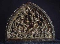 Creation Suite of 3 Bronze Sculptures: Ex Nihilo: Creation, Creation of Day 2002 Sculpture by Frederick Hart - 0