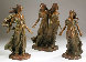 Daughters of Odessa Trilogy 3/4 Life, 1997 Set of 3 Bronze Sculptures 48 in high Sculpture by Frederick Hart - 0
