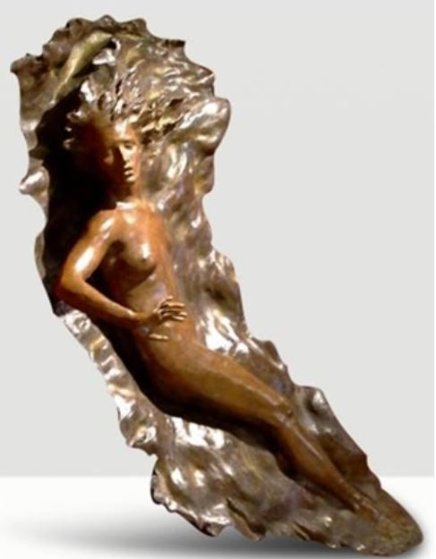 Ex Nihilo Figure 1 ( Full Scale) 2005 Life Size Bronze Sculpture 72 in Sculpture by Frederick Hart