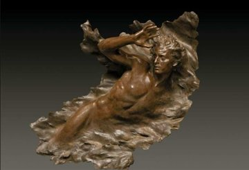 Ex Nihilo Figure 3, 2008 Bronze Sculpture 55 in Sculpture by Frederick Hart