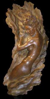 Ex Nihilo Figure 6 ( Full Scale) 2003 Life Size Bronze Sculpture 64 in Sculpture - Frederick Hart