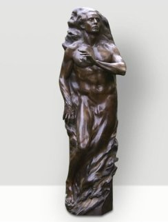 Adam Life Size Bronze Sculpture 2001 81 in Sculpture - Frederick Hart