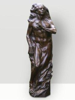 Adam Life Size Bronze Sculpture 2001 81 in Sculpture by Frederick Hart