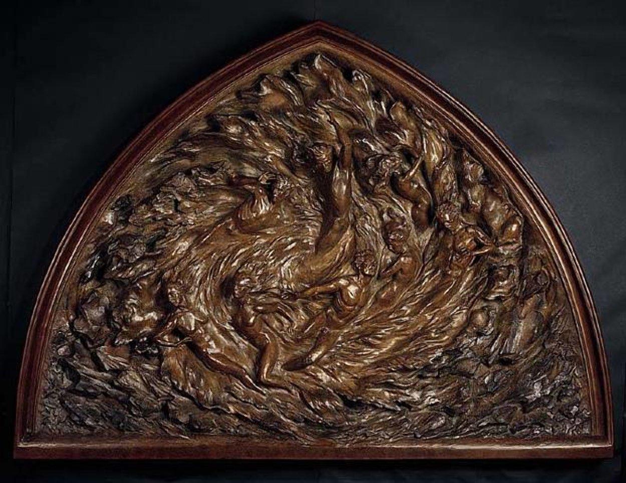 Ex Nihilo Bronze Sculpture Working Model 60 in Sculpture by Frederick Hart