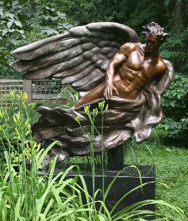Herald Bronze 1992 50 in  Sculpture - Frederick Hart