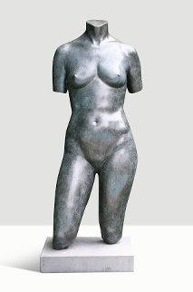 Female Torso Bronze Sculpture Collaborators Proof  1991 41 in   Sculpture by Frederick Hart