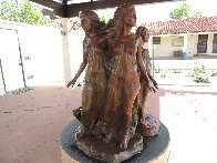 Daughters of Odessa Trilogy, 1997 Set of 3 Bronze Sculptures 48 in high Sculpture by Frederick Hart - 6