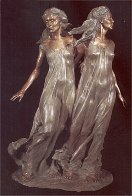 Daughters of Odessa Trilogy, 1997 Set of 3 Bronze Sculptures 48 in high Sculpture by Frederick Hart - 3