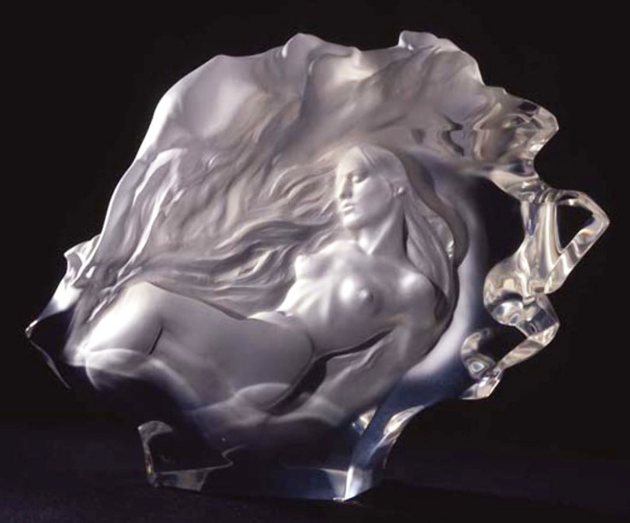 Dreamers Acrylic Sculpture 1993 26 in Sculpture by Frederick Hart