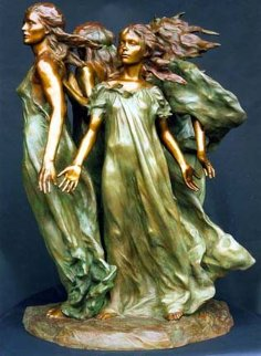 Daughters of Odessa Bronze Sculpture 1998 25 in  Sculpture - Frederick Hart