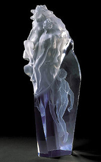 Born of Light Acrylic Sculpture 2006 AP 24 in Sculpture by Frederick Hart