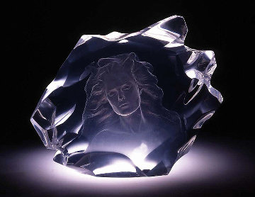 Illuminata I Acrylic Sculpture 1997 15 in Sculpture - Frederick Hart