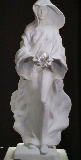 The Source, Life Size Hand Carved Italian Marble 2005 Sculpture - Frederick Hart