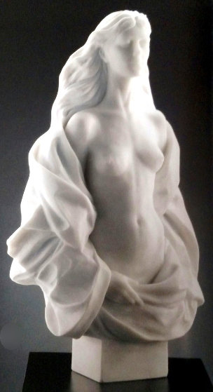 Fidelia  Hand Carved Italian Marble AP 2006 65 in Sculpture by Frederick Hart