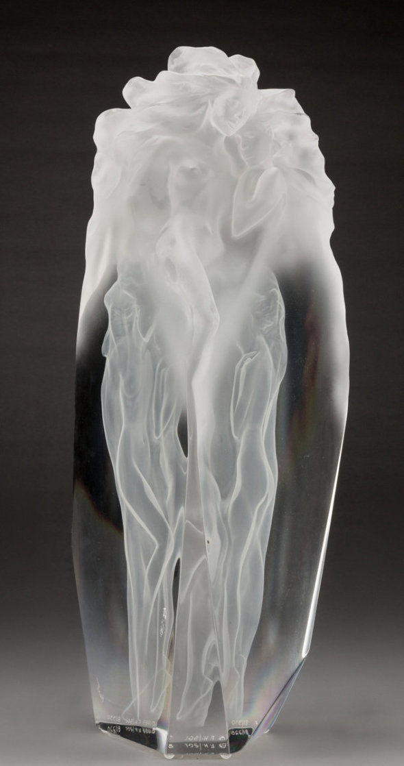 First Light Acrylic  Sculpture 1989 22 in Sculpture by Frederick Hart