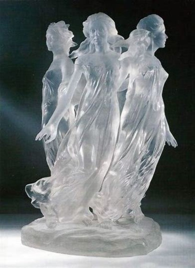 Songs of Grace Acrylic Sculpture 2005 24 in Sculpture by Frederick Hart