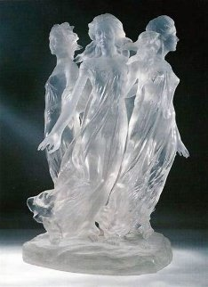 Songs of Grace Acrylic Sculpture 2005 24 in Sculpture - Frederick Hart