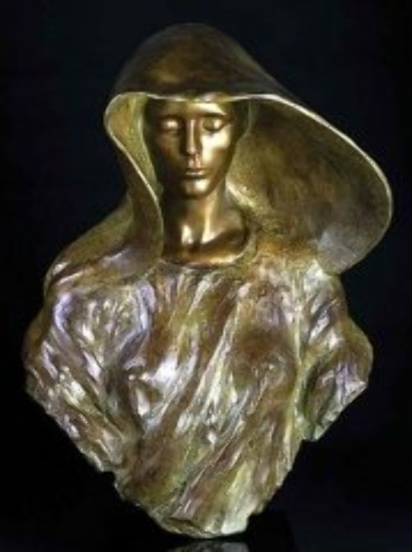 Source Bronze Bust Sculpture 2003 24 in Sculpture by Frederick Hart