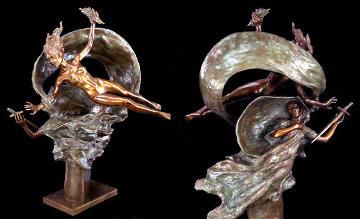 Liberty And Sacrifice Bronze Sculpture 2006 35 in Sculpture - Frederick Hart