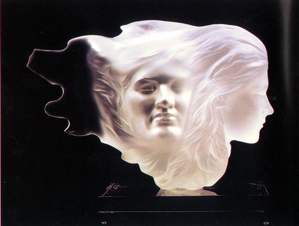 Herself Acrylic Sculpture 1984 18 in Sculpture by Frederick Hart