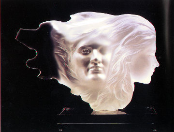 Herself Acrylic Scupture 1984 18 in Sculpture - Frederick Hart