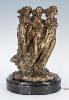 Daughters of Odessa Bronze Maquette 1998 14 in Sculpture - Frederick Hart