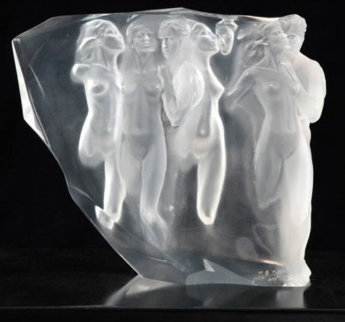 Gerontion Acrylic Sculpture 1982 12 in Sculpture - Frederick Hart