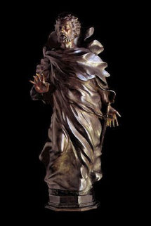 St Paul Maquette Bronze Sculpture 2004 25 in Sculpture - Frederick Hart