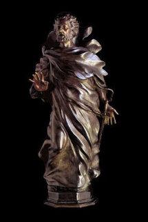 St Paul Maquette Bronze Sculpture 2004 25 in Sculpture - Frederick Hart