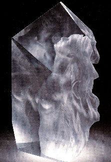 Exaltation Acrylic Sculpture 1998 23in Sculpture by Frederick Hart