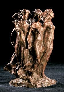 Daughters Maquette Bronze Sculpture 13 in Sculpture by Frederick Hart
