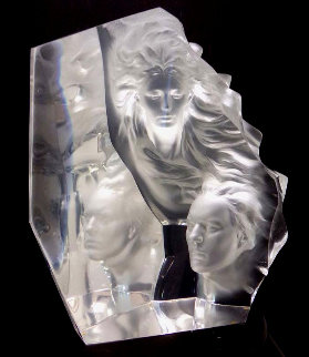 Appassionata Acrylic Sculpture 17 in  Sculpture by Frederick Hart