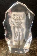 Illuminata Set of 3 Acrylic Sculptures, 1997 14 in Sculpture by Frederick Hart - 10