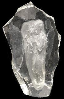 Illuminata Set of 3 Acrylic Sculptures, 1997 14 in Sculpture - Frederick Hart
