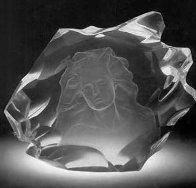 Illuminata Set of 3 Acrylic Sculptures, 1997 14 in Sculpture by Frederick Hart - 2
