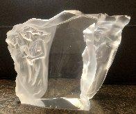Illuminata Set of 3 Acrylic Sculptures, 1997 14 in Sculpture by Frederick Hart - 14
