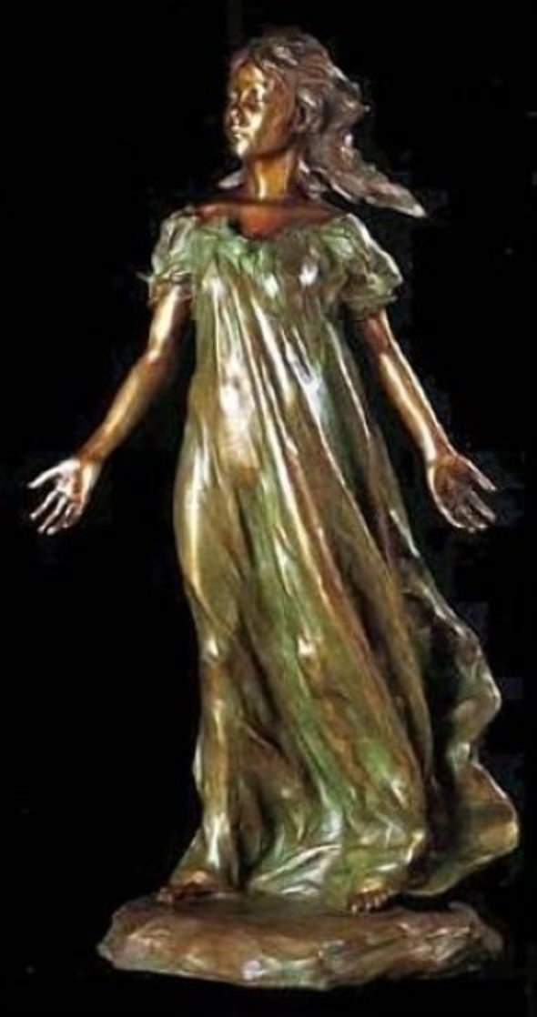 Daughters of Odessa, Youngest Daughter Bronze Sculpture 1997 44 in Sculpture by Frederick Hart