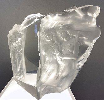 Illuminata Suite of 3 Arcylic Sculptures 15 in Sculpture - Frederick Hart