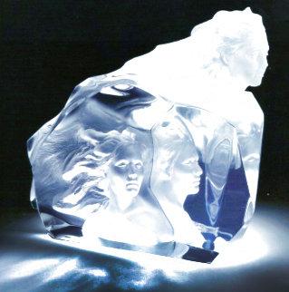 Destiny Acrylic Sculpture 1999 12 in Sculpture - Frederick Hart