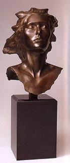 Celebration, 2002 Female Bronze Sculpture 14 in  Sculpture by Frederick Hart