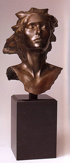 Celebration, 2002 Female Bronze Sculpture 14 in  Sculpture by Frederick Hart