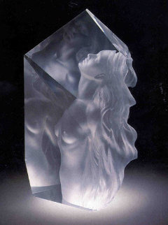 Exhaltation Acrylic Sculpture 1998 22 in Sculpture - Frederick Hart