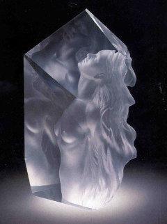 Exhaltation Acrylic Sculpture 1998 22 in Huge!  Sculpture - Frederick Hart