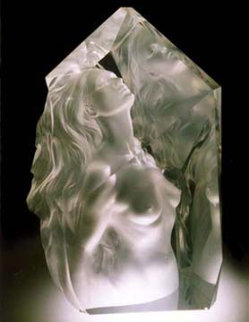 Exhaltation Acrylic Sculpture 1998 22 in  Sculpture by Frederick Hart