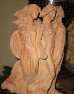 Daughters of Odessa Terracotta Sculpture 1993 Sculpture - Frederick Hart